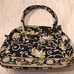 Yellow and Black Vera Bag
